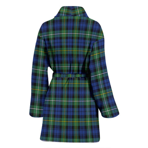 Image of ScottishShop Campbell Argyll Ancient Bathrobe | Women Tartan Plaid Bathrobe