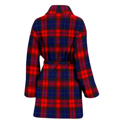 MacLachlan Modern Bathrobe | Women Tartan Plaid Bathrobe | Universal Fit