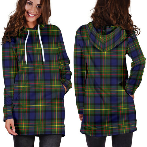 ScottishShop Hoodie Dress - MacLaren Modern Tartan Hooded Dress