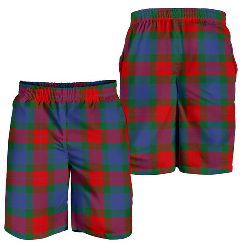 Tartan Mens Shorts - Clan Mar Plaid Shorts