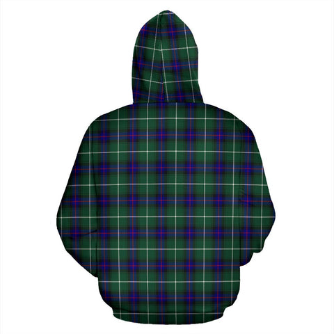Image of ScottishShop Macdonald Of The Isles Tartan Clan Badge Hoodie
