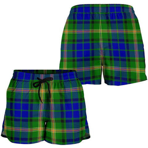 ScottishShop Maitland Tartan Shorts For Women