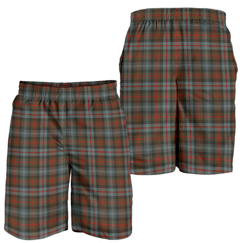 Image of Tartan Mens Shorts - Clan Murray of Atholl Weathered Plaid Shorts