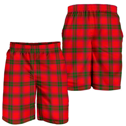 Image of Tartan Mens Shorts - Clan MacNab Modern Plaid Shorts