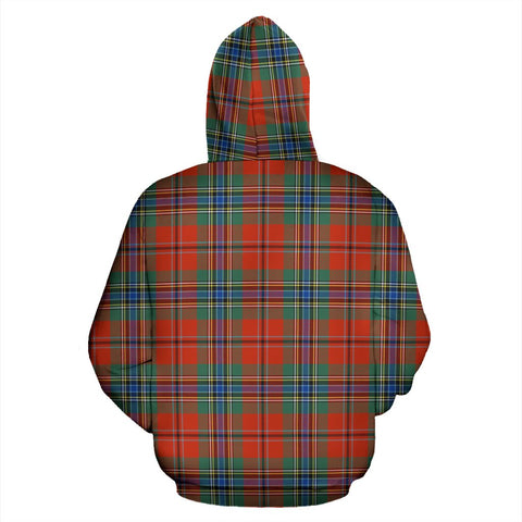 Image of Maclean Of Duart Tartan Clan Badge Hoodie HJ4