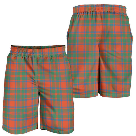 Tartan Mens Shorts - Clan MacKintosh Ancient Plaid Shorts