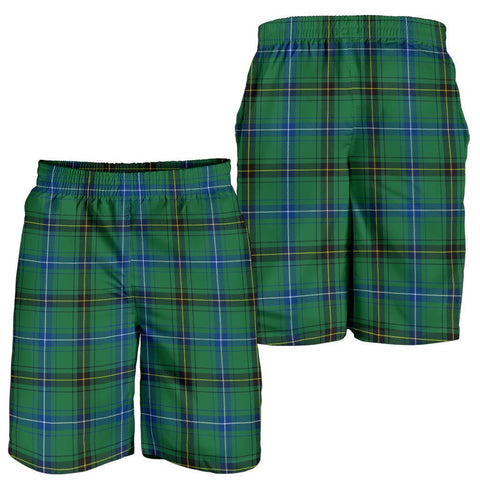 Image of Tartan Mens Shorts - Clan Henderson Ancient Plaid Shorts