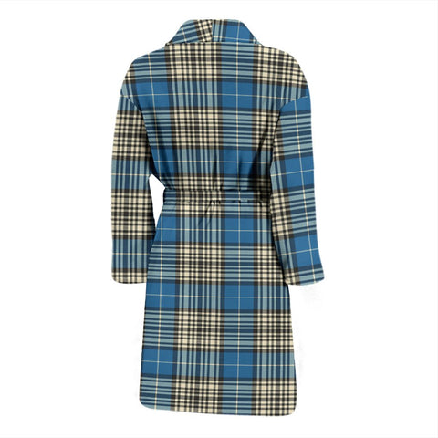 ScottishShop Napier Ancient Bathrobe | Men Tartan Plaid Bathrobe
