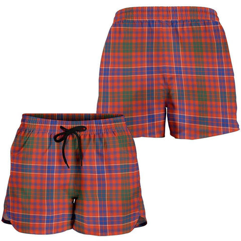 Image of ScottishShop Macrae Ancient Tartan Shorts For Women