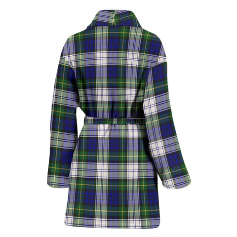 ScottishShop Gordon Dress Modern Bathrobe | Women Tartan Plaid Bathrobe
