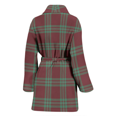 ScottishShop MacGregor Hunting Ancient Bathrobe | Women Tartan Plaid Bathrobe