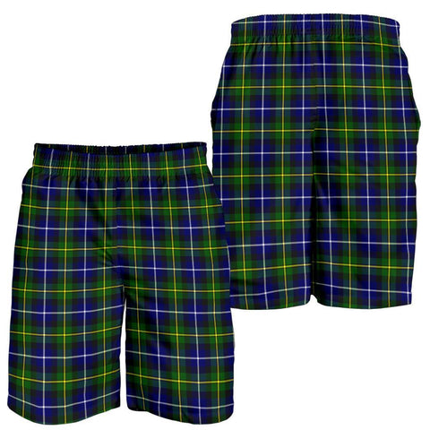 Tartan Mens Shorts - Clan MacNeill of Barra Modern Plaid Shorts