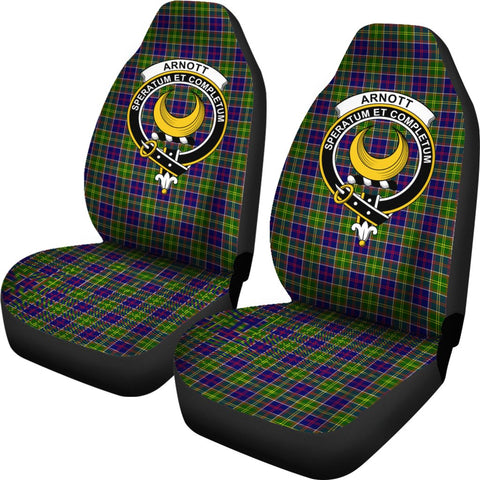 Arnott Tartan Car Seat Covers Clan Badge