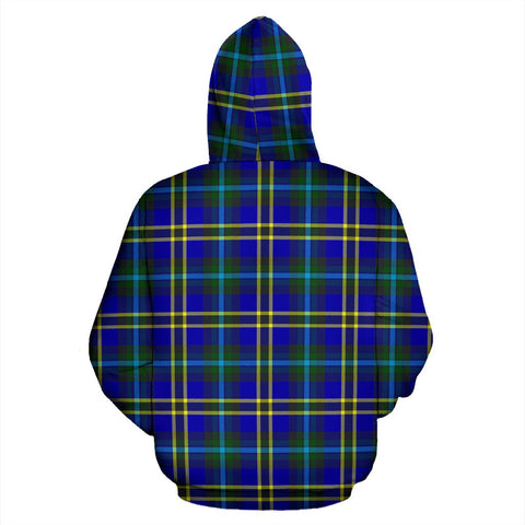ScottishShop Weir Tartan Clan Badge Hoodie