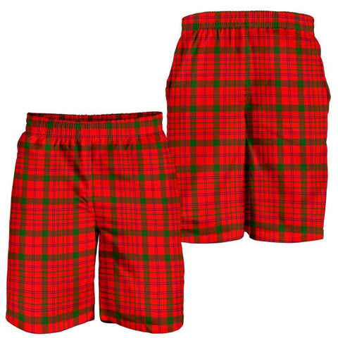 Tartan Mens Shorts - Clan MacDonnell of Keppoch Modern Plaid Shorts