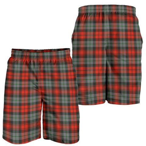 Image of Tartan Mens Shorts - Clan MacLachlan Weathered Plaid Shorts