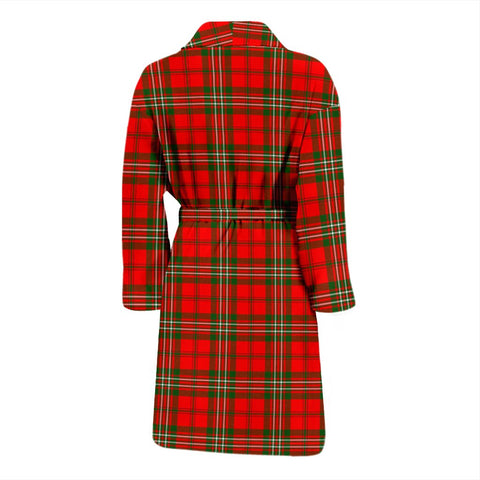 Scott Modern Bathrobe | Men Tartan Plaid Bathrobe | Universal Fit