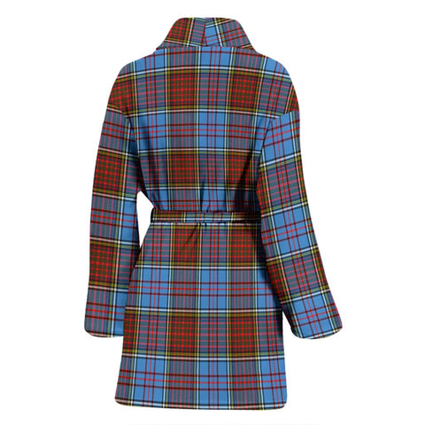 ScottishShop Anderson Modern Bathrobe | Women Tartan Plaid Bathrobe