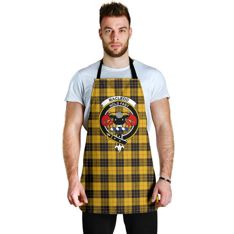 Tartan Apron - MacLeod of Lewis Ancient Apron With Clan Crest HJ4