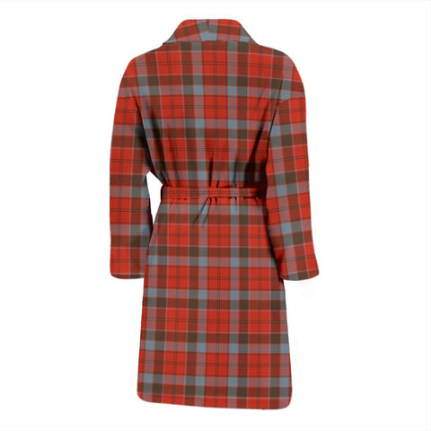 Image of Robertson Weathered Bathrobe | Men Tartan Plaid Bathrobe | Universal Fit