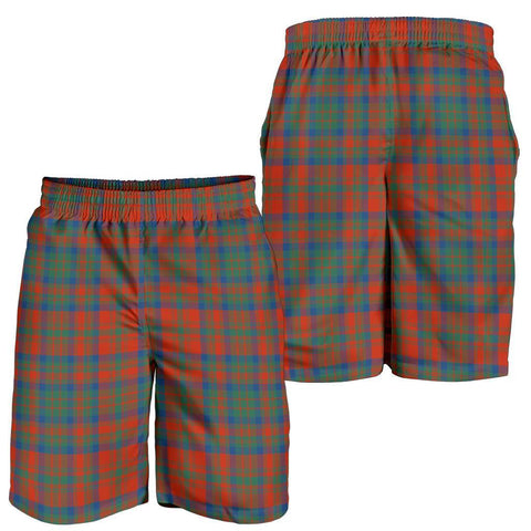 Tartan Mens Shorts - Clan Matheson Ancient Plaid Shorts