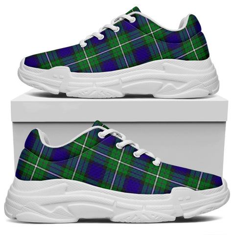 Image of Chunky Sneakers - Tartan Alexander Shoes