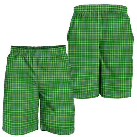 Tartan Mens Shorts - Clan Currie Plaid Shorts