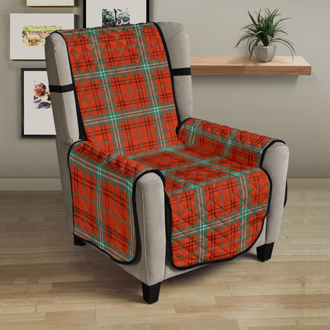 Clan Morrison Red Ancient Plaid Sofa Protector - 23 Inches