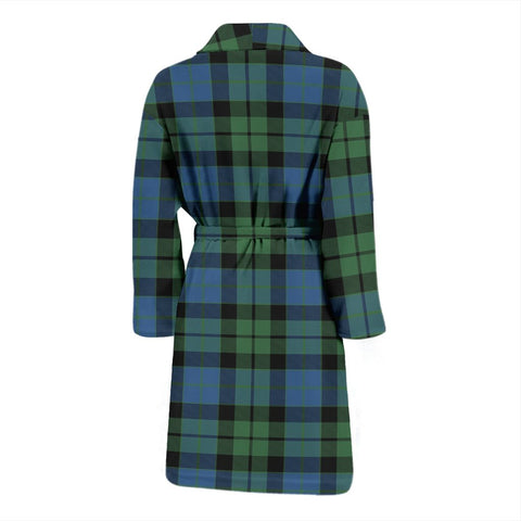 ScottishShop MacKay Ancient Bathrobe | Men Tartan Plaid Bathrobe