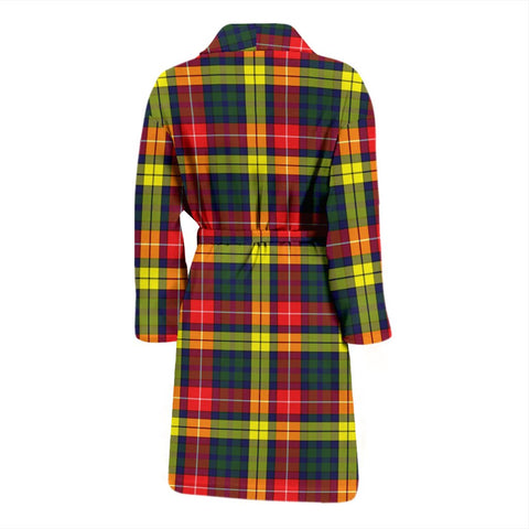 Image of ScottishShop Buchanan Modern Bathrobe | Men Tartan Plaid Bathrobe