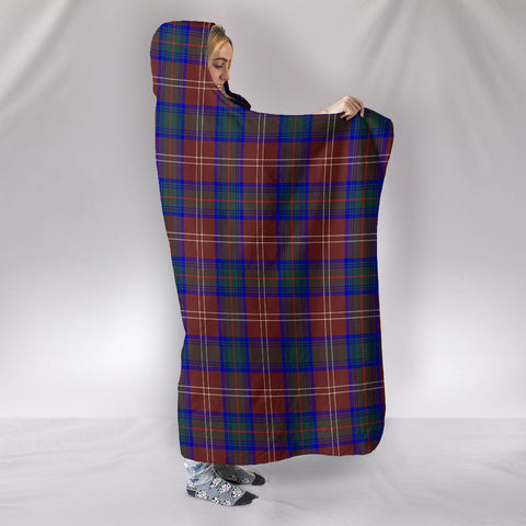Chisholm Hunting Modern, hooded blanket, tartan hooded blanket, Scots Tartan, Merry Christmas, cyber Monday, xmas, snow hooded blanket, Scotland tartan, woven blanket