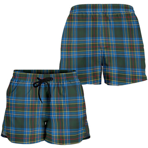 ScottishShop Cockburn Modern Tartan Shorts For Women