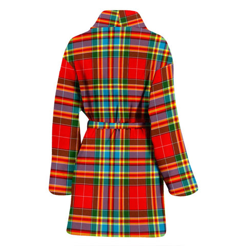 Image of ScottishShop Chattan Bathrobe | Women Tartan Plaid Bathrobe