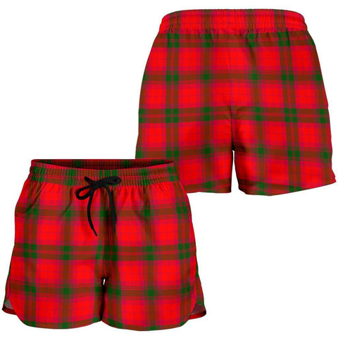 Image of ScottishShop Macnab Modern Tartan Shorts For Women