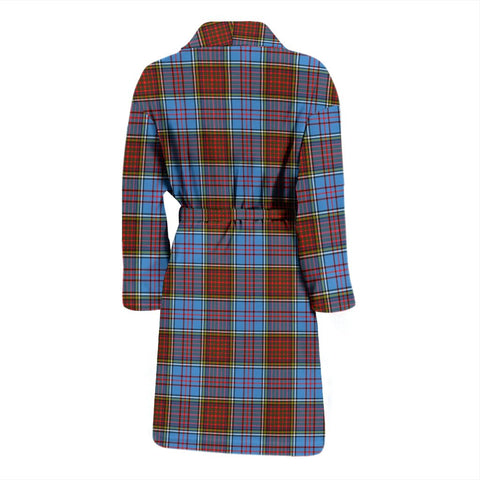 Image of ScottishShop Anderson Modern Bathrobe | Men Tartan Plaid Bathrobe