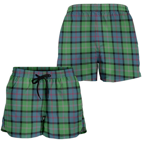 Macthomas Ancient Tartan Shorts For Women