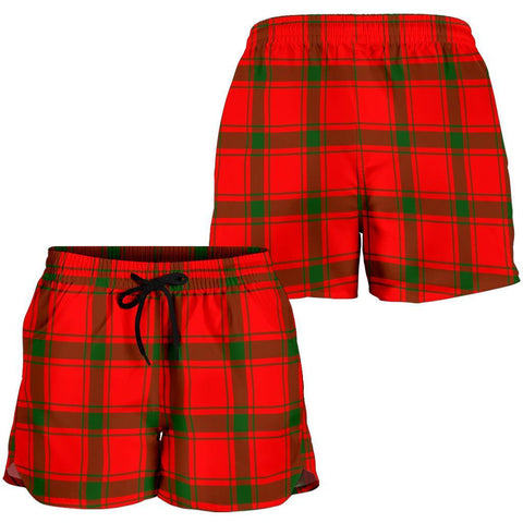 ScottishShop Macdonald Of Sleat Tartan Shorts For Women