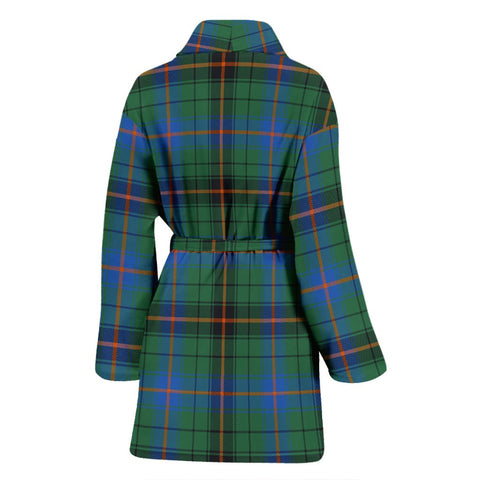 Davidson Ancient Bathrobe | Women Tartan Plaid Bathrobe | Universal Fit