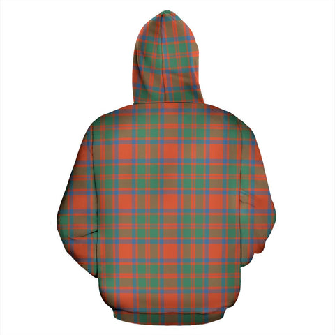 ScottishShop Mackintosh Ancient Tartan Hoodie
