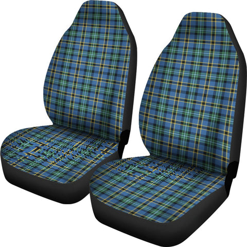 Weir Ancient Tartan Car Seat Covers