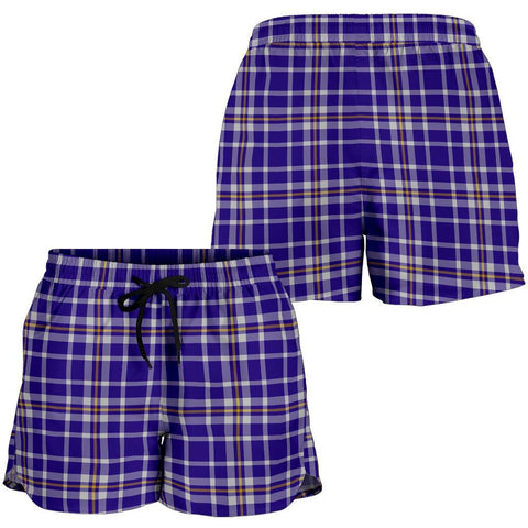 ScottishShop Ochterlony Tartan Shorts For Women