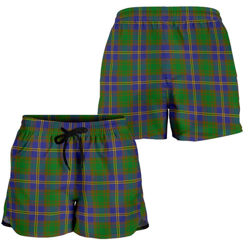 ScottishShop Strange Of Balkaskie Tartan Shorts For Women