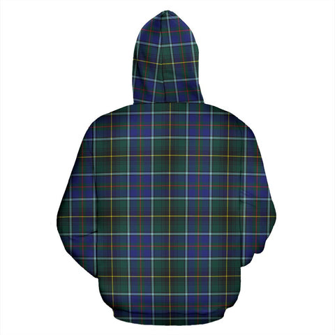 ScottishShop Macinnes Tartan Clan Badge Hoodie