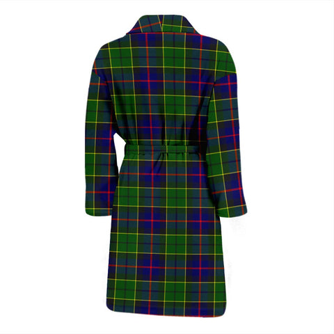 ScottishShop Forsyth Modern Bathrobe | Men Tartan Plaid Bathrobe
