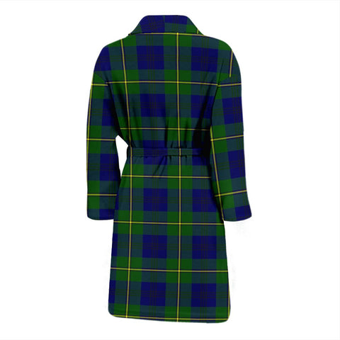 ScottishShop Johnston Modern Bathrobe | Men Tartan Plaid Bathrobe