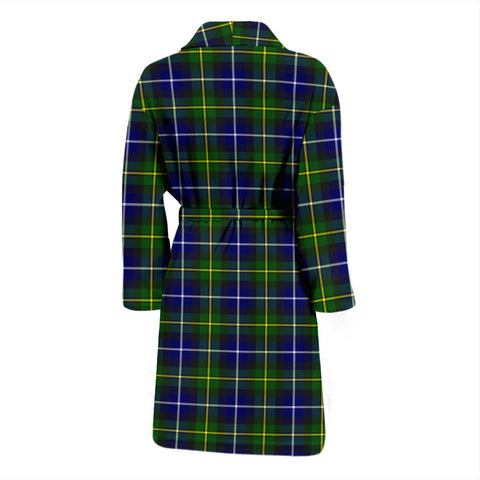 ScottishShop MacNeill Of Barra Modern Bathrobe | Men Tartan Plaid Bathrobe