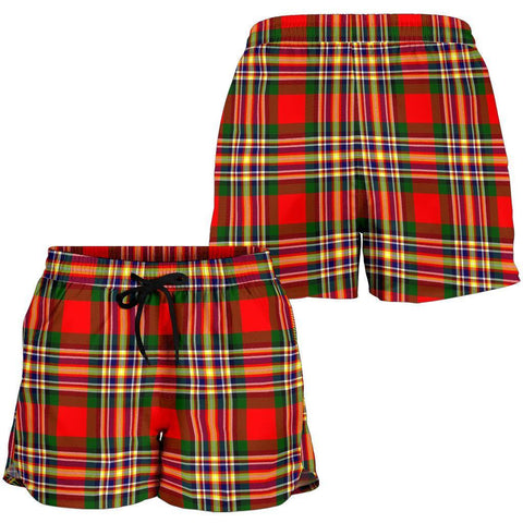 ScottishShop Macgill Modern Tartan Shorts For Women
