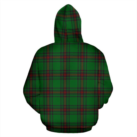 ScottishShop Halkett Tartan Clan Badge Hoodie