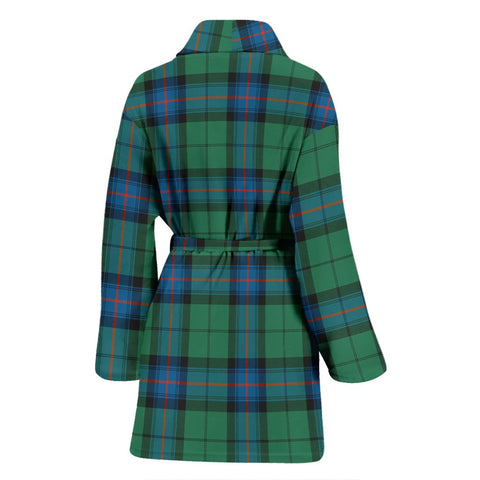 Armstrong Ancient Bathrobe | Women Tartan Plaid Bathrobe | Universal Fit
