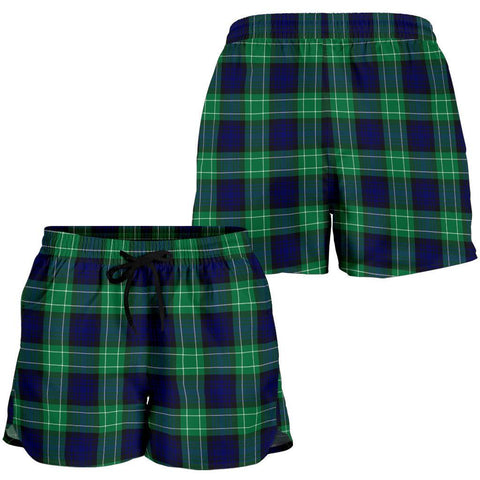 ScottishShop Abercrombie Tartan Shorts For Women